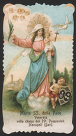 MADONNA: La Vergine Maria Madonna Della Pace / Venerata Dai Passionisti A Monopoli (Bari) - (anni Venti) - Riproduzione - Santini