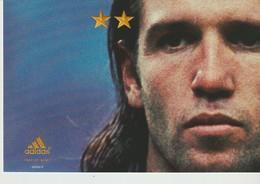 C.P. - JUIN 2002 - ON N'A QU'UNE SEULE CHOSE EN TÈTE - ADIDAS - VINCENT CANDELA - - Football