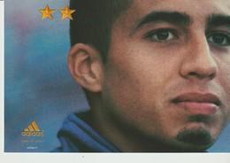 C.P. - JUIN 2002 - ON N'A QU'UNE SEULE CHOSE EN TÈTE - ADIDAS - DAVID TREZEGUET - FOOTBALL - Football