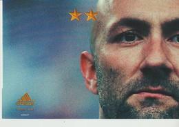 C.P. - JUIN 2002 - ON N'A QU'UNE SEULE CHOSE EN TÈTE - ADIDAS - FABIEN BARTHEZ - FOOTBALL - Football