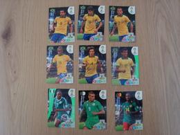 LOT DE 9 CARD GAME PANINI FIFA WORLD CUP BRESIL - Panini