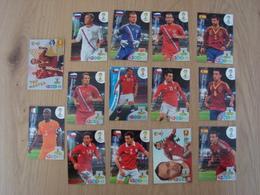 LOT DE 14 CARD GAME PANINI FIFA WORLD CUP BRESIL - Panini