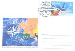 2019. Moldova, Moldova-NATO, Partnership For Peace Programme, Prep. Env, FDC, Mint/** - Moldawien (Moldau)