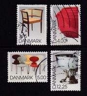 DENMARK, 1997, Used Stamp(s), Designer Products, MI 1166-1169, #10236, Complete - Denmark