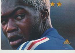 C.P. - JUIN 2002 - ON N'A QU'UNE SEULE CHOSE EN TÈTE - ADIDAS - DJIBRIL CISSE - FOOTBALL - Football