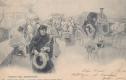 AK - Spanien - Madrid - Menschen Auf Der Camino Del Cementerio - 1900 - Madrid