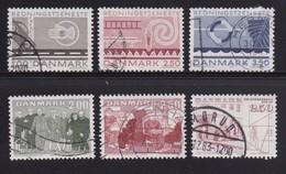 DENMARK, 1983, Used Stamp(s),   Commomeratives, MI 785=791, #10163, 6 Values - Denmark
