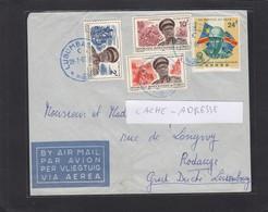 LETTRE DE LUBUMBASHI POUR RODANGE,LUXEMBOURG. - République Du Congo (1960-64)