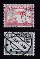 DENMARK, 1981, Used Stamp(s), Airmail  MI 740=743, #10158, 2 Values Only - Denmark