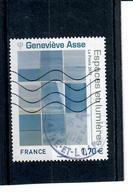 Yt 5189-serie Artistique Genevieve Asse-cachet Rond - France