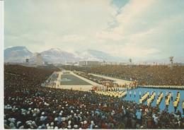 C.P. - PHOTO - GRENOBLE - STADE OLYMPIQUE - CÉRÉMONIE D'OUVERTURE DES Xème JEUX OLYMPIQUES D'HIVER - 1968 - ANDRÉ - 38AB - Grenoble