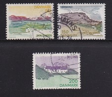 DENMARK, 1977, Used Stamp(s), Tourism South Jutland,  MI 641=644, #10135, 3 Values Only - Denemarken