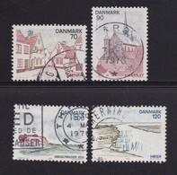 DENMARK, 1975, Used Stamp(s), Tourism Jutland,  MI 598-601, #10124, Complete - Denemarken