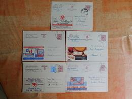 Lot De 5 Entiers Postaux Publibels (D7) - Stamped Stationery