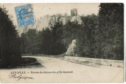 Aywaille Ruines Du Chateau  Des 4 Fils  Aymond - Aywaille