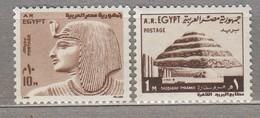 EGYPT 1973 Definitives MNH(**) Mi 602-603 #23889 - Égypte