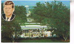 GRAVE  OF JOHN  F. KENNEDY  CEMETERY ARLINGTON   TBE   US266 - Washington DC