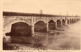 ETAPLES - Pont Du Chemin De Fer Sur La Canche - Etaples