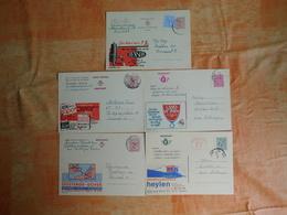 Lot De 5 Entiers Postaux Publibels (D7) - Publibels
