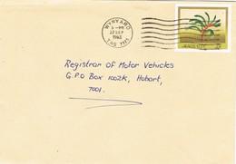 31529. Entero Postal WINYARD (Tasmania) 1983. Flower, Floral Mangles - Enteros Postales