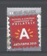 Belgium 2010 Antverpia Logo OCB 4029  (0) - Oblitérés