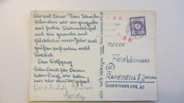 OPD: Fern-Karte 6 Pf Gez. Ost Sachsn EF MWSt. Chemnitz  Vom 23.12.45 Nach Radebeul Knr: 58 A - Zone Soviétique