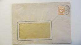 OPD: Orts-Brief 8 Pf Ost Sachsen Gez. OSt. Dresden N 23 Vom 6.12.45, Abs: Gothaer Feuer-Versicherung  Knr: 59 - Zone Soviétique