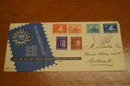 Superbe Envoi Des Indes Néerlandaises 1940 ,avec 6 Timbres,collection,collector - Netherlands Indies