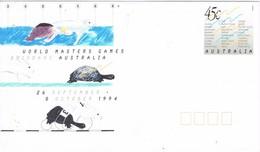 31531. Carta Entero Postal AUSTRALIA 1994. World Master Games BRISBANE - Enteros Postales