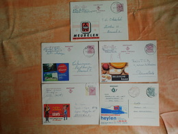 Lot De 5 Entiers Postaux Publibels (E7) - Entiers Postaux