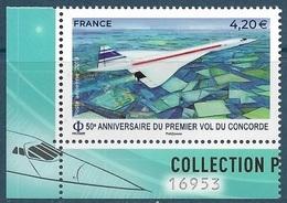 PA 83a 50e Anniversaire Du Premier Vol Du Concorde (2019) Neuf** - Poste Aérienne