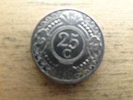 Antilles  Neerlandaises    25  Cents  1999  Km 35 - Netherland Antilles