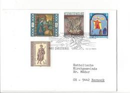 21609 - Christkindl 1984 Lettre Pour Berneck 15.121984 - Noël