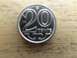 Kazakhstan  20  Tenge  2017  Km  !!! - Kazakhstan