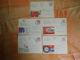 Lot De 5 Entiers Postaux Publibels (F7) - Stamped Stationery