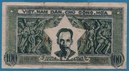 VIETNAM 100 DongND (1950) Letter MX Serie HA 417 205 TV  P# 33 - Vietnam