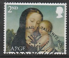 GB 2017 Christmas - Madonna And Child 2nd Large SG 4021 Multicoloured O Used - 1952-.... (Elisabeth II.)