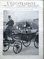 L'Illustrazione Italiana 17 Luglio 1921 Hirohito Balbeck Dante Firenze Brambilla - Libri, Riviste, Fumetti