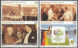 Uruguay 2005, FIFA World Cup Germany (MNH, **) - 2006 – Alemania