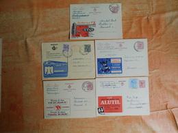 Lot De 5 Entiers Postaux Publibels (G7) - Postwaardestukken