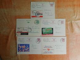 Lot De 5 Entiers Postaux Publibels (G7) - Stamped Stationery