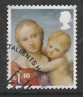GB 2017 Christmas - Madonna And Child £1.40 SG 4024 Multicoloured O Used - 1952-.... (Elisabeth II.)