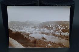Véritable Photographie Photo Ancienne 23X16cm Vers 1900 Port De Nice Dock Quai - Places