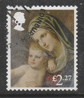 GB 2017 Christmas - Madonna And Child £2.27 SG 4026 Multicoloured O Used - 1952-.... (Elisabeth II.)