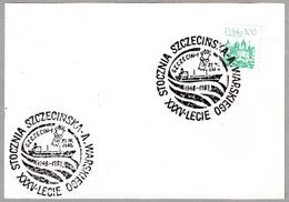35 Años ASTILLEROS WARSKIEGO - 35 Years SHIPYARD. Szczecin, Polonia, 1983 - Fábricas Y Industrias
