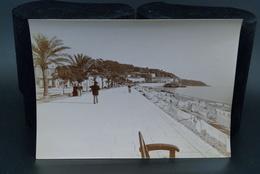 Véritable Photographie Photo Ancienne 23X16cm Vers 1900 Nice Promenade Des Anglais - Places