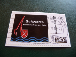 BRIEFMARKE  INDIVIDUEL  /  SCHWERTE  /  WERT  70 - BRD