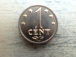 Antilles  Neerlandaises    1  Cent  1975  Km 8 - Netherland Antilles