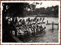 Photo Originale Guerre 1939-45 Jeunes Filles Du III Reich & Bund Deutscher Mädel (BDM) Nazisme & Marianne Güstke - Guerre, Militaire
