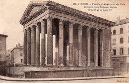 VIENNE - Temple D'Auguste Et De Livie - Vienne